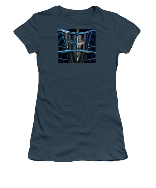 Women's T-Shirt (Junior Cut) featuring the photograph Borchers Ford V8 by Trey Foerster