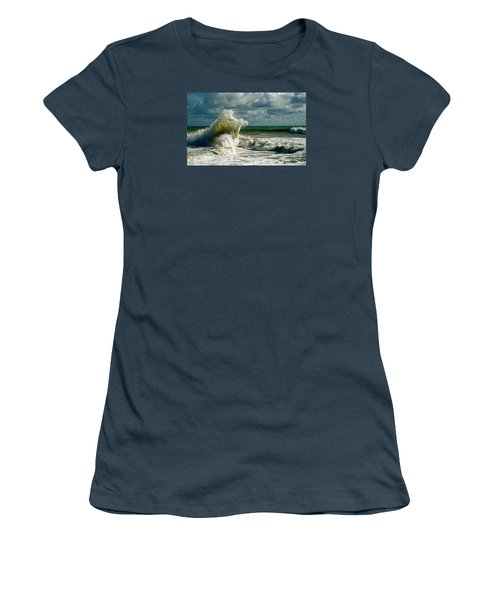 Breakwater Backwash Women's T-Shirt (Junior Cut)