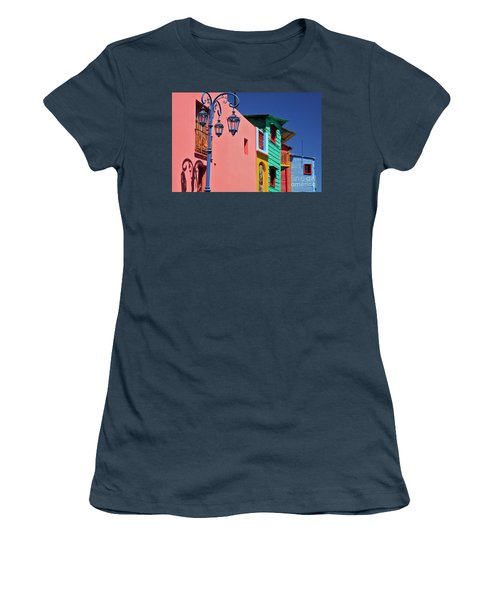 Women's T-Shirt (Junior Cut) featuring the photograph Caminito by Bernardo Galmarini