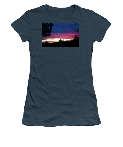 Candy-coated Clouds Women's T-Shirt (Junior Cut) by Jason Coward