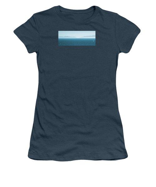 Catalina Test Women's T-Shirt (Junior Cut) by Ben and Raisa Gertsberg