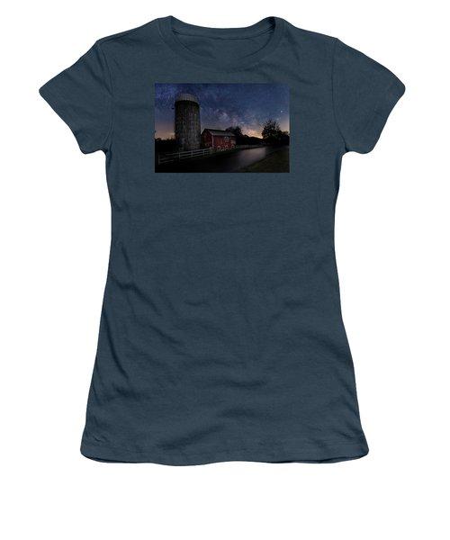 Women's T-Shirt (Junior Cut) featuring the photograph Celestial Farm by Bill Wakeley