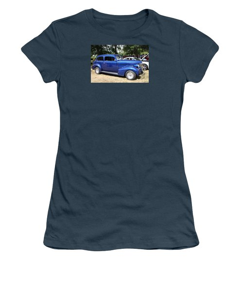 Chevy Town Sedan 1939 Women's T-Shirt (Athletic Fit)