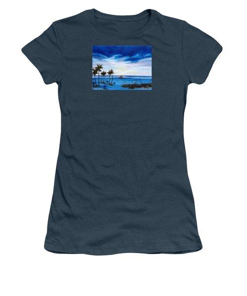 Colors On The Gulf Women's T-Shirt (Junior Cut) by Lloyd Dobson