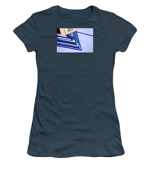 Women's T-Shirt (Junior Cut) featuring the photograph Cornering The Blues by Prakash Ghai