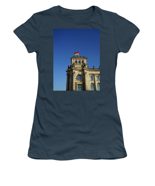 Deutscher Bundestag II Women's T-Shirt (Junior Cut) by Flavia Westerwelle
