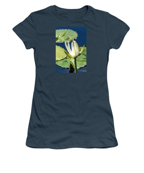 Dragonfly Women's T-Shirt (Junior Cut) by Susi Stroud