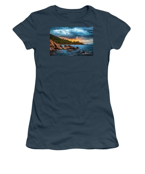 Eastern Glow At Sunset Women's T-Shirt (Athletic Fit)