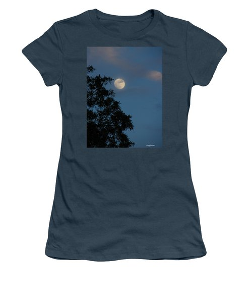 Women's T-Shirt (Junior Cut) featuring the photograph Eight Thirty Two Pm by Greg Patzer
