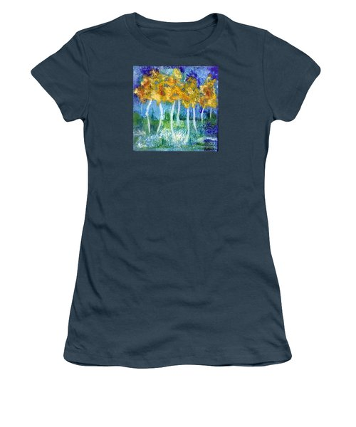 Fantasy Glade Women's T-Shirt (Junior Cut) by Elizabeth Fontaine-Barr