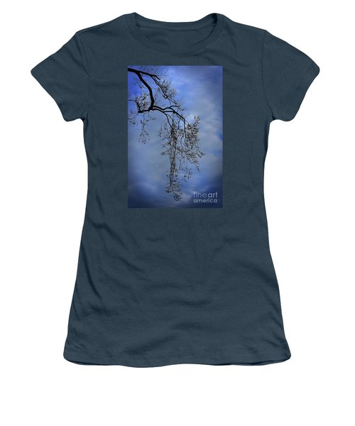 Women's T-Shirt (Junior Cut) featuring the photograph Filigree From On High by Skip Willits