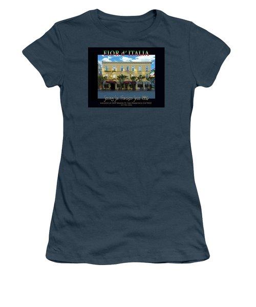 Fior D' Italia Since 1886 Women's T-Shirt (Junior Cut) by Robert J Sadler