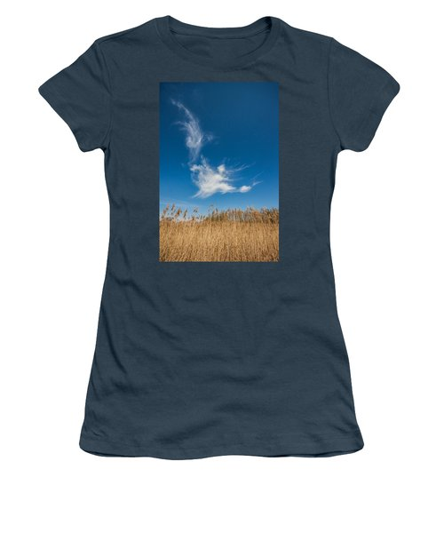 Women's T-Shirt (Junior Cut) featuring the photograph Freedom by Davorin Mance