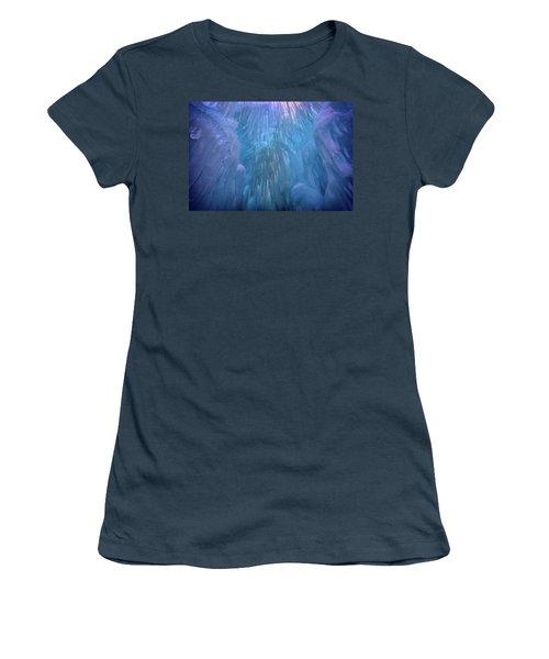 Women's T-Shirt (Junior Cut) featuring the photograph Frozen by Rick Berk