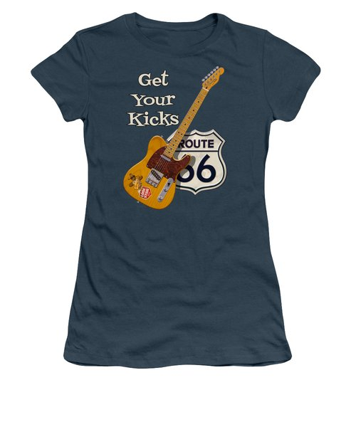 Get Your Kicks Women's T-Shirt (Athletic Fit)