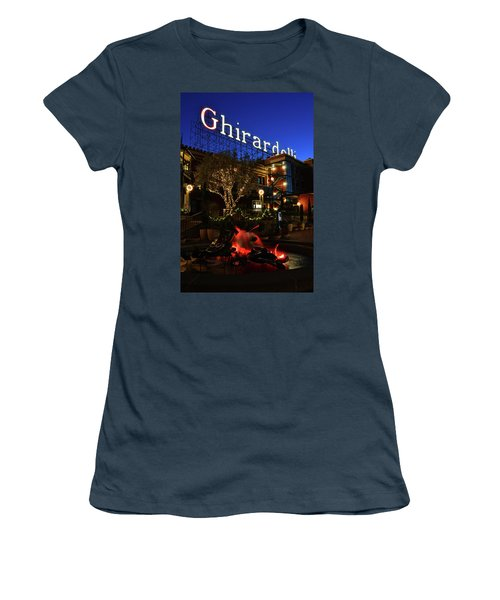 Ghirardelli Square Women's T-Shirt (Junior Cut)