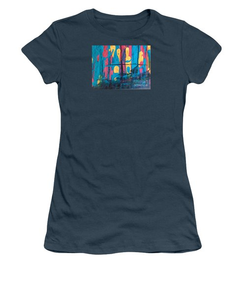 Ghost Ship Women's T-Shirt (Junior Cut) by Marcia Dutton