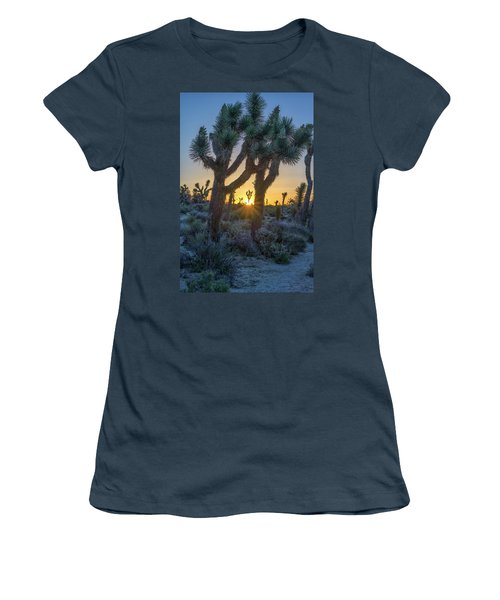 Good Morning From Joshua Tree Women's T-Shirt (Junior Cut)