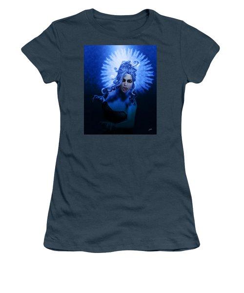 Gorgon Blue Women's T-Shirt (Junior Cut)