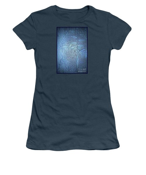 Hanging In Blue Women's T-Shirt (Junior Cut) by Pamela Blizzard