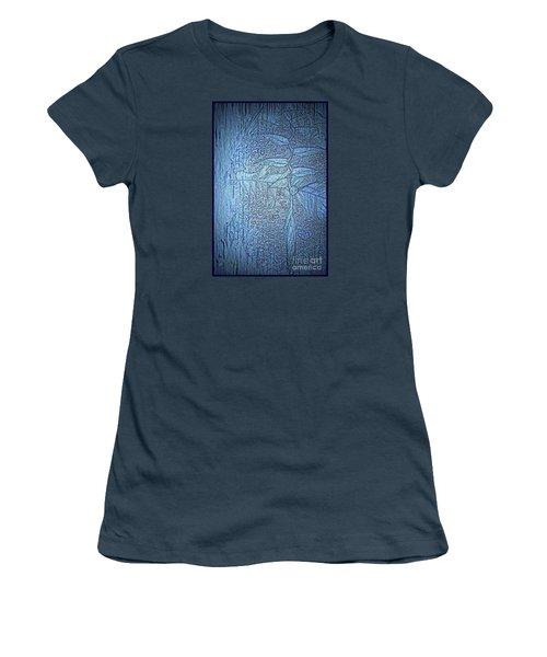 Hanging In Blue Women's T-Shirt (Junior Cut)