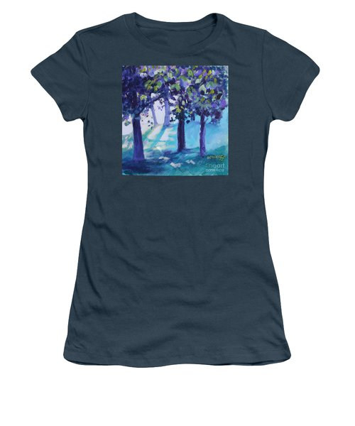 Heart Of The Forest Women's T-Shirt (Junior Cut) by Jan Bennicoff