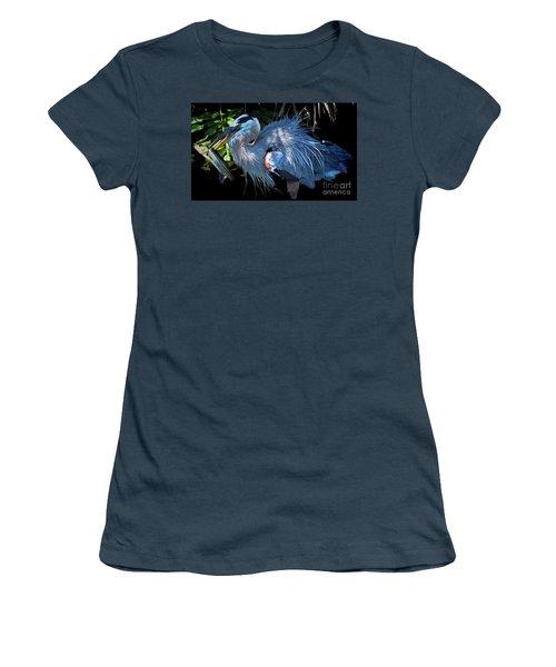 Heron's Lunch Women's T-Shirt (Junior Cut)