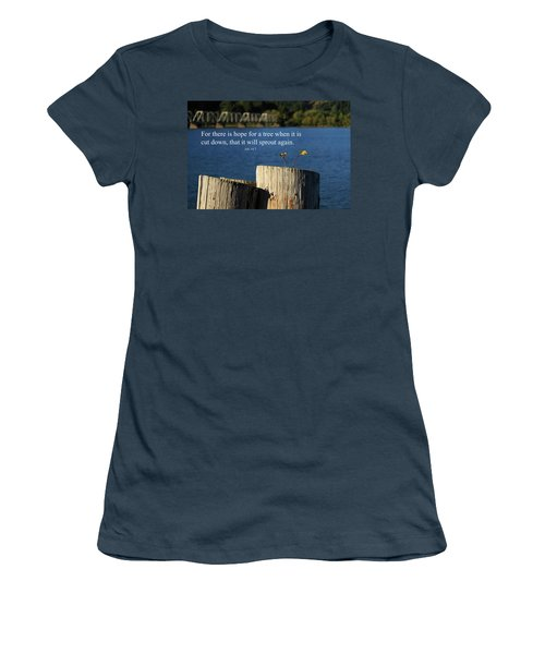 Hope For A Tree Women's T-Shirt (Junior Cut) by James Eddy