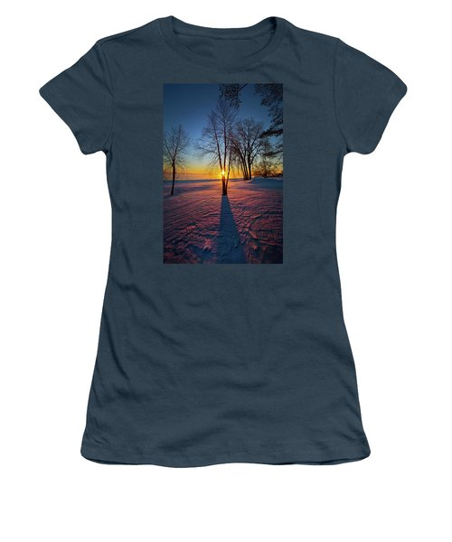 Women's T-Shirt (Junior Cut) featuring the photograph In That Still Place by Phil Koch