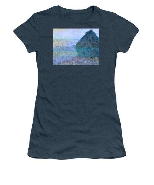 Inv Blend 21 Monet Women's T-Shirt (Junior Cut) by David Bridburg
