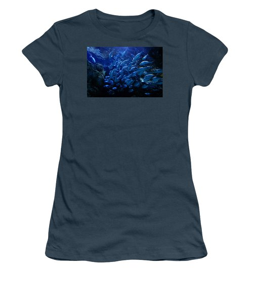 Women's T-Shirt (Junior Cut) featuring the photograph It's Time For School by Linda Unger