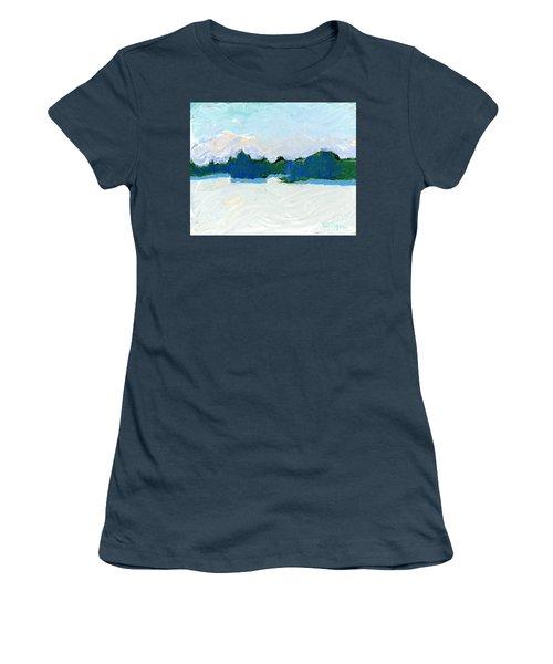 Knife Lake Women's T-Shirt (Junior Cut) by Rodger Ellingson