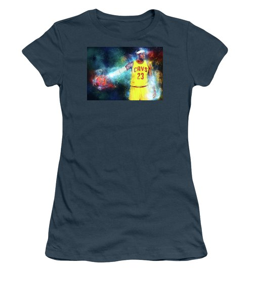 Lebron James Women's T-Shirt (Athletic Fit)