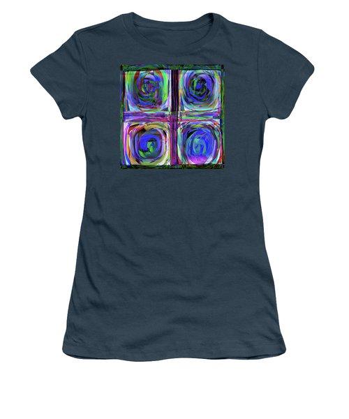 lLetter to Kandisky Women's T-Shirt (Junior Cut) by Danica Radman