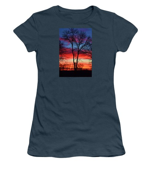 Magical Colors In The Sky Women's T-Shirt (Junior Cut) by Dacia Doroff