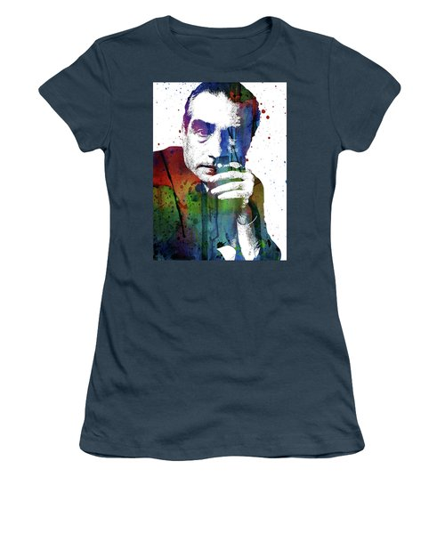 Martin Scorsese Women's T-Shirt (Junior Cut) by Mihaela Pater