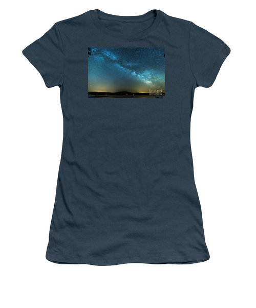 Memorial Day Milky Way Women's T-Shirt (Junior Cut) by Patrick Fennell