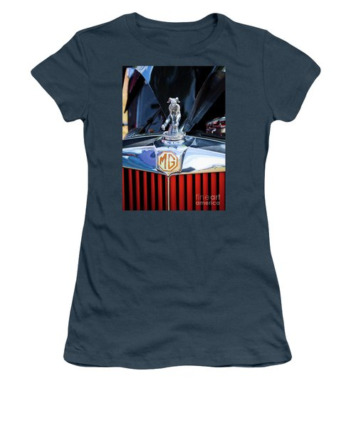 Women's T-Shirt (Junior Cut) featuring the photograph Mg Fool by Chris Dutton