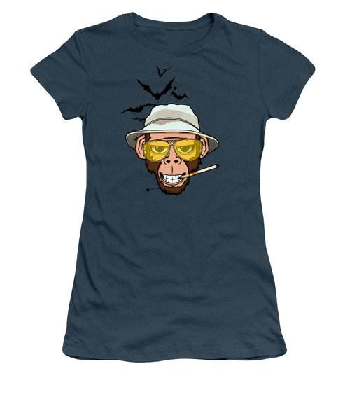 Monkey Business In Las Vegas Women's T-Shirt (Junior Cut) by Nicklas Gustafsson