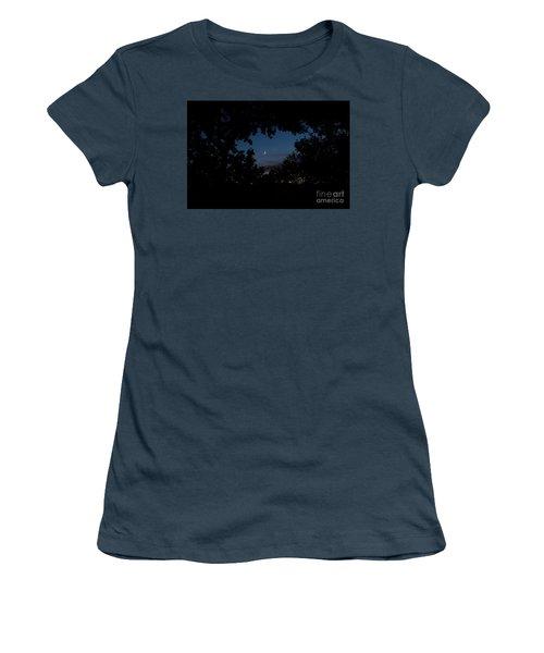 Moon Venus, Jupiter Women's T-Shirt (Junior Cut)