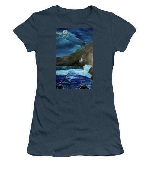 Moonlit Wave Women's T-Shirt (Junior Cut)