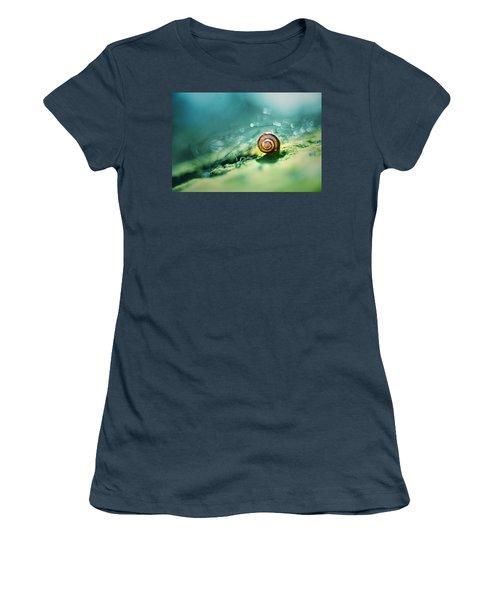 Morning Glare Women's T-Shirt (Junior Cut) by Jaroslaw Blaminsky