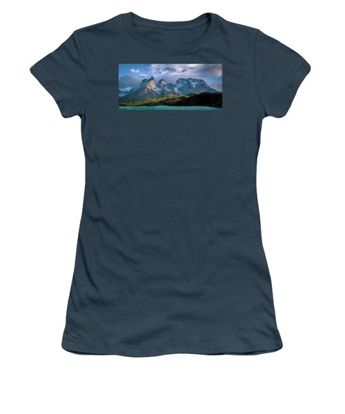 Mountain Dream Women's T-Shirt (Junior Cut) by Andrew Matwijec