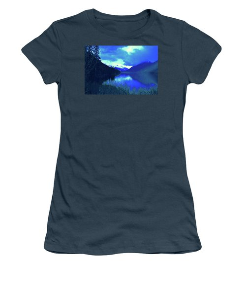 Night Sky Women's T-Shirt (Junior Cut) by Joe Burns