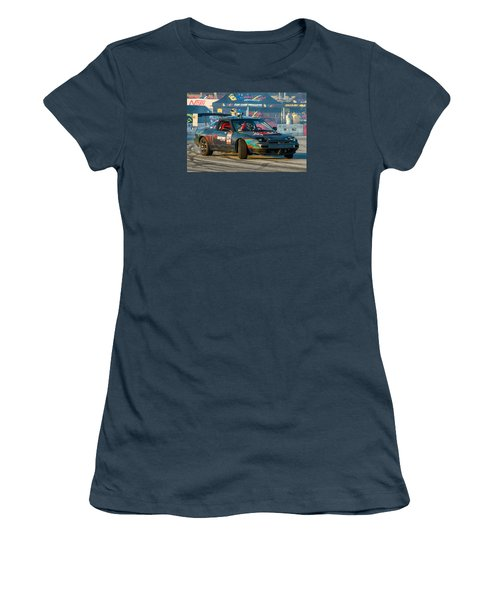 Nopi Drift 2 Women's T-Shirt (Junior Cut) by Michael Sussman