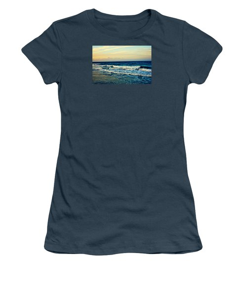 Ocean Women's T-Shirt (Junior Cut) by Artists With Autism Inc