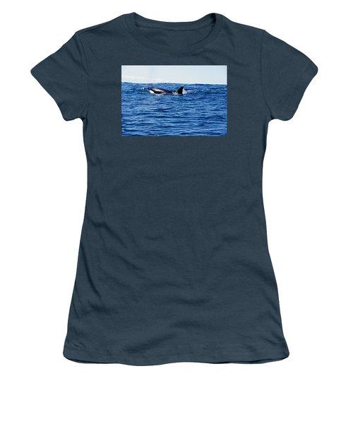 Orca Women's T-Shirt (Junior Cut) by Marilyn Wilson