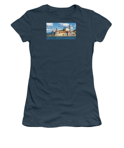 Piran Women's T-Shirt (Junior Cut) by Robert Krajnc