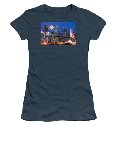 Pittsburgh 6 Women's T-Shirt (Junior Cut) by Emmanuel Panagiotakis