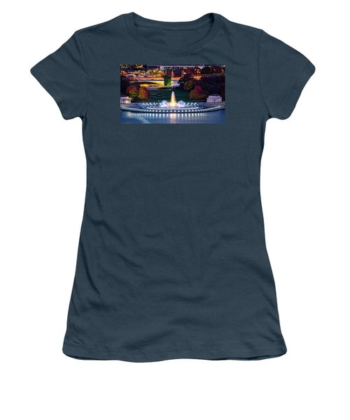 Point State Park  Women's T-Shirt (Junior Cut) by Mihai Andritoiu
